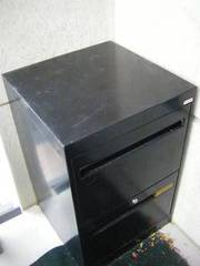 Black 2 shelf G&T Filing Cabinet