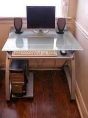 Contemporary,  Stylish Computer/Work Desk For Sale