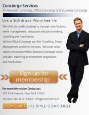 Conciant a leading way in LifeStyle Concierge