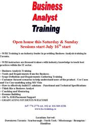 Business Analyst Training + Resume + Guaranteed job placement support