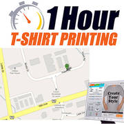 Express T-Shirt Printing. Pick up in an hour!