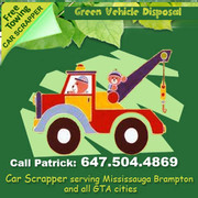 Scrap Car Removal Patrick 647-504-4869 * FREE Towing (1 hour)