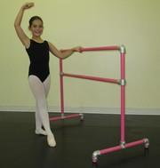 PORTABLE BALLET BARRE,  BALLET WORKOUT EXERCISE BAR,  PHYSIQUE 57
