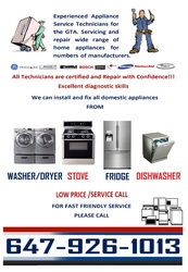 Certify Experienced Appliance Service Technicians for GTA.