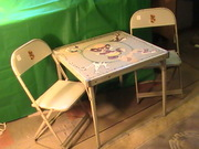 Punkinhead Play Table and Chair Set -High Chair *Vintage Hard to FIND