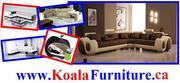 Modern sectional U-shape sofas