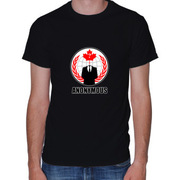 Anonymous Canada (BLACK) T-shirt