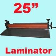25'' Manual Cold Roll Laminator