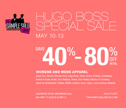 HUGO BOSS SPECIAL SELL