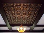Do admire at the beauty of decorative ceilings