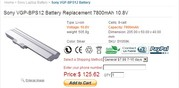 Sony VGP-BPS12 Battery