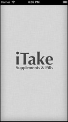 iTake: Supplements and Pills Tracker – iPhone app - Healthcare,  Fitnes