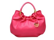 Michael Kors Pleated Opening Rosy Satchel sale at mkbagsonlinestore.co