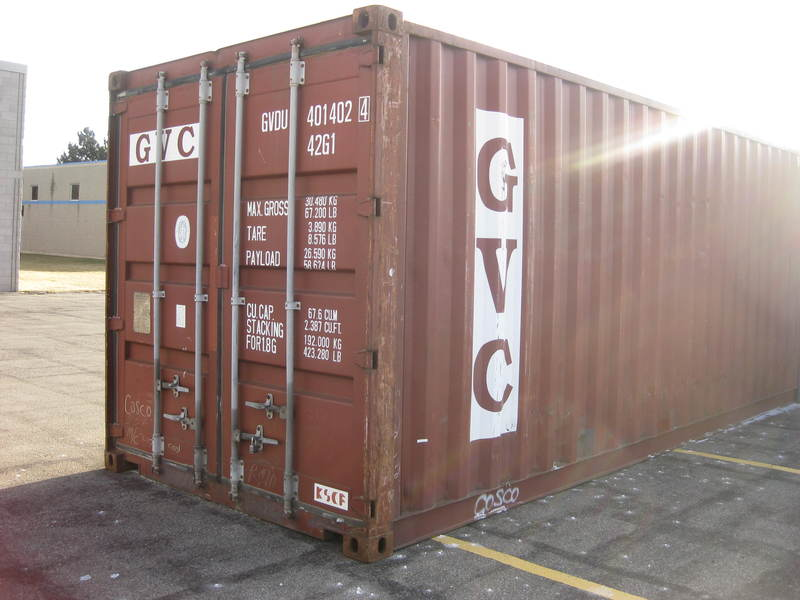 Steel shipping containers in ontario for sale toronto for Shipping containers for sale in minnesota
