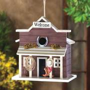 WELCOME SALOON BIRDHOUSE