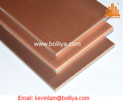 Copper Composite Panel for façade cladding