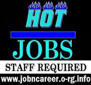 (Cash Jobs) Staff Needed Immediately.