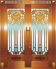 Find beautiful and durable copper doors at Amber Imp-EX Corp