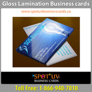 Quality of Gloss Laminated Business Cards