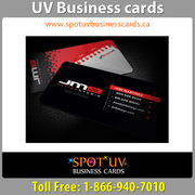 Today Offer 100% Brand Quality UV Business cards