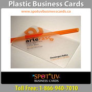 Big Offer Plastic Business Cards with High printing quality