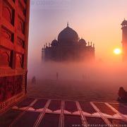 Make a visit to Taj Mahal,  Agra