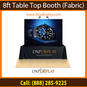 Pop up Table top displays booth: The Indoor Advertising Tool