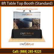Hassle free Tension Fabric Table Top Displays