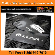 Today Offer Silk laminated Lamination business card