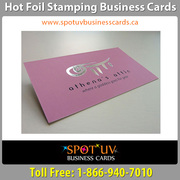 Foil Business Cards By Spot UV Business Cards
