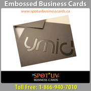 Embossed Business Cards: Make A Big Impact On Your Business