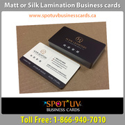 Matte Business Cards: The Classiest Cards With The Smoothest Texture