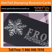 Effective professional Hot Foil Stamping Business Cards.