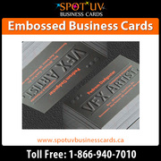 Today Offer Embossed business cards : 500 Business Cards $350