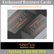 Embossed Business Cards Add A Touch Of Class And Texture