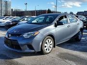 2014 Toyota Corolla Canada