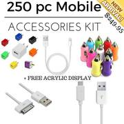 250 pcs Mobile Accessories Retail Kit Online Canada