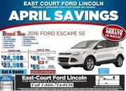 2016 Ford Escape Toronto