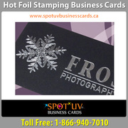 We provide Best Foil Stamping Business Cards