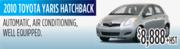2010 Toyota Yaris Hatchback Toronto
