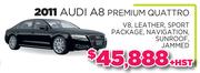 2011 Audi A8 Premium Quattro