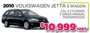 2010 Volkswagen Jettas Wagon