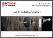 Action Locksmiths-Toronto For 24 Hour Key Making Services