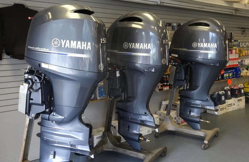 slightly used yamaha outboard motor engine for sale