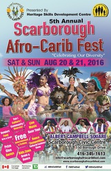 Scarborough Afro-Carib Fest @ Albert Campbell Square