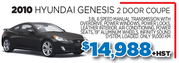 2010 Hyundai Genesis for Sale in Toronto