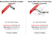 Muffler Express,  Toronto - Wholesalers MPV Catalytic Converter