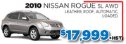 2010 Nissan Rogue SL AWD in Toronto