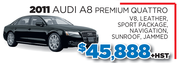 2011 Audi A8 Premium Quatrro in Toronto