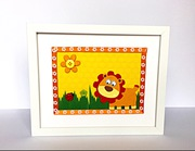 Adorable lion kids room decor